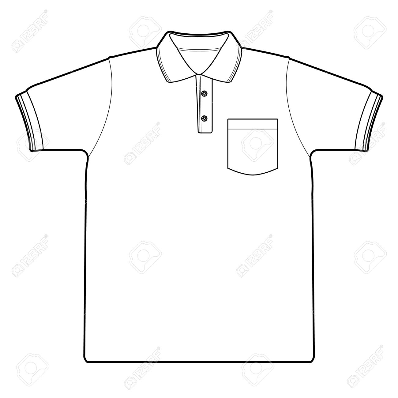 Drawing Of A Shirt