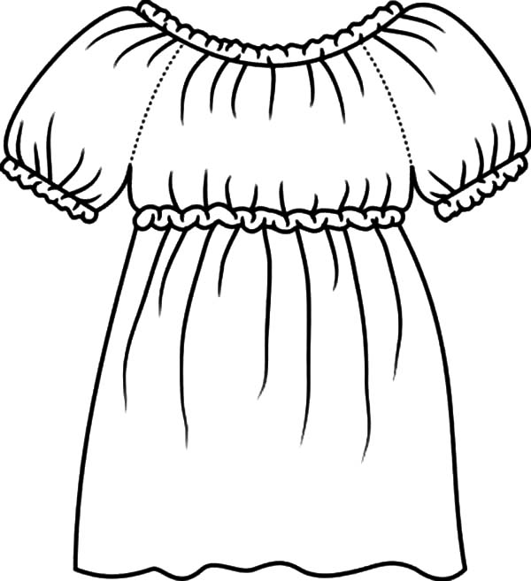 Formal Dance Coloring Pages