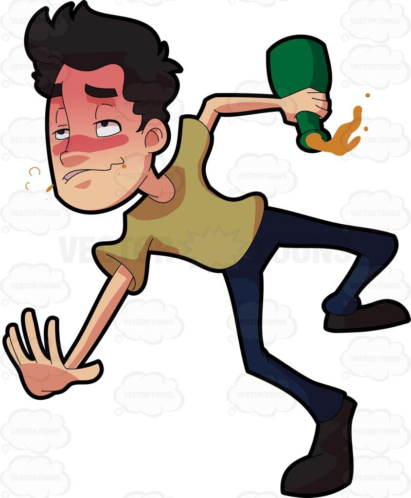 hight resolution of 845x1024 drunk man clipart