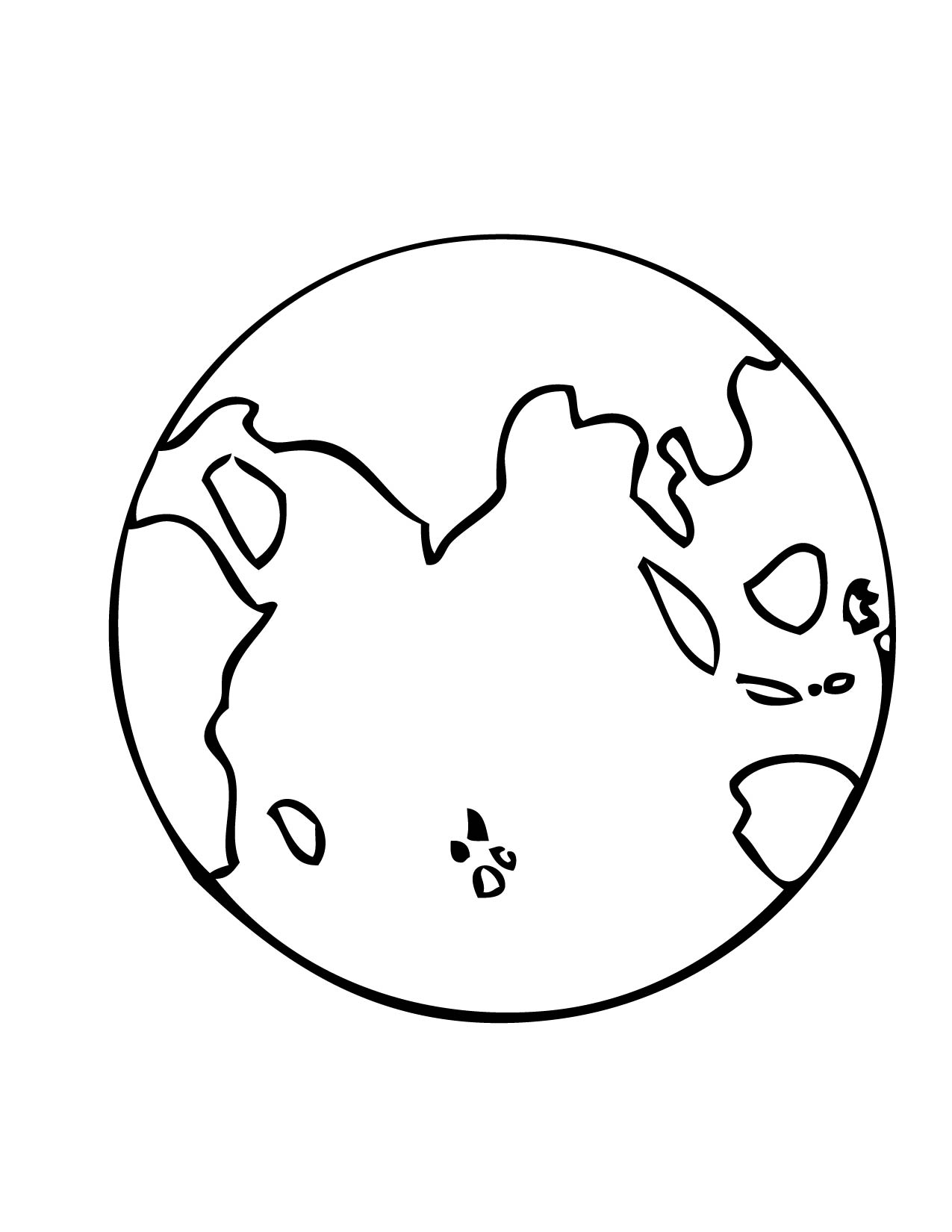Earth Printable