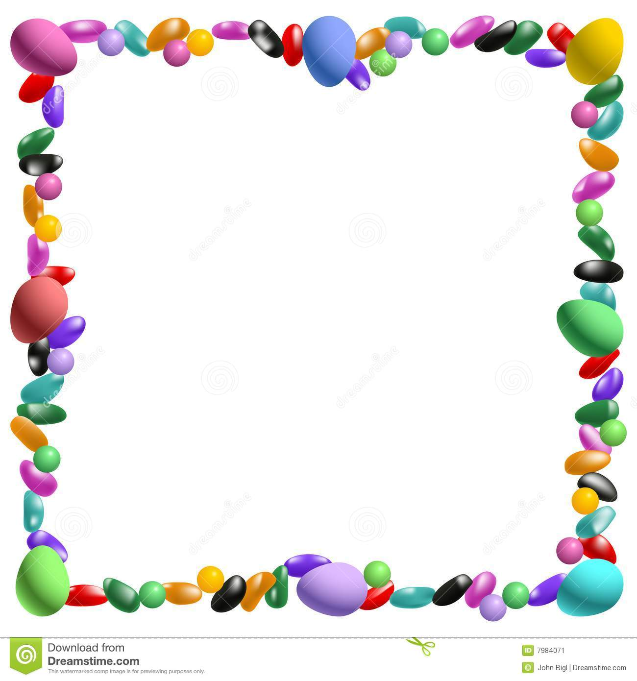 Easter Border Clipart Free