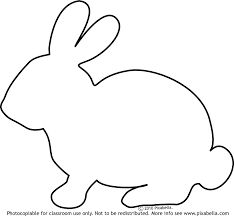 clipart bunny rabbit silhouette clipartmag easter