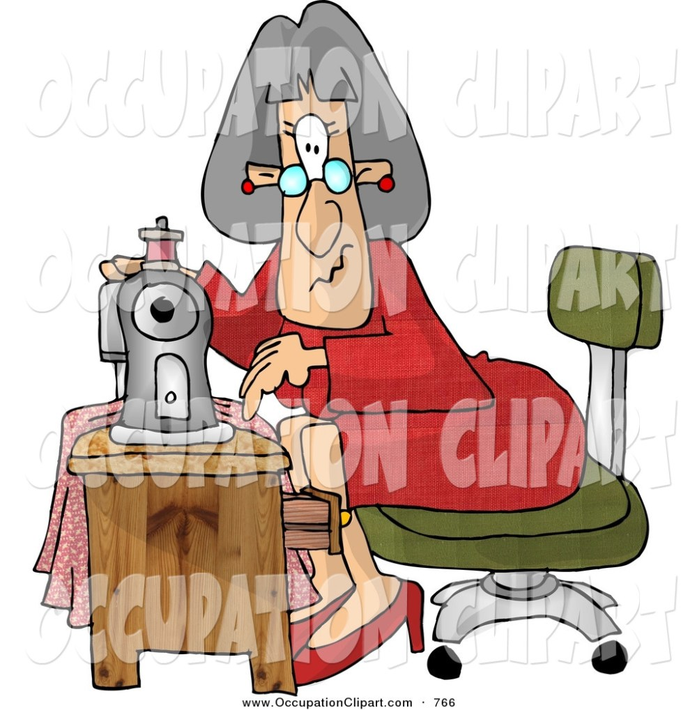 medium resolution of 1024x1044 clip art of elderly seamstress woman sewing a dress using