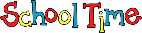 small resolution of 2030x487 word clipart school