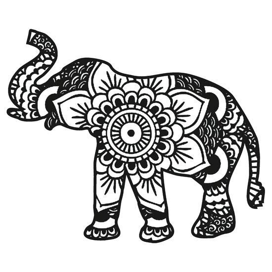 coloring pages of elephants # 19