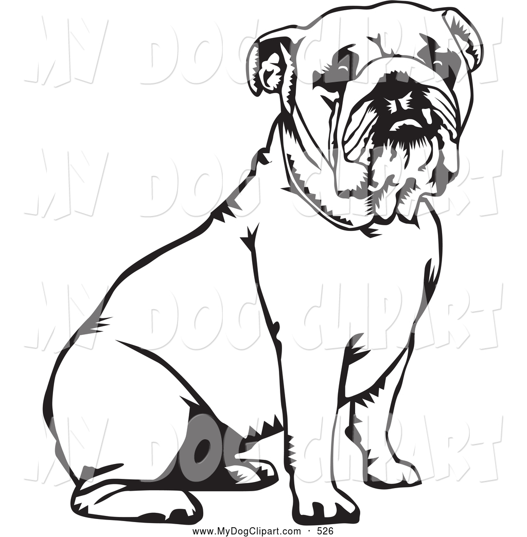 hight resolution of 1024x1044 english bulldog clipart black and white