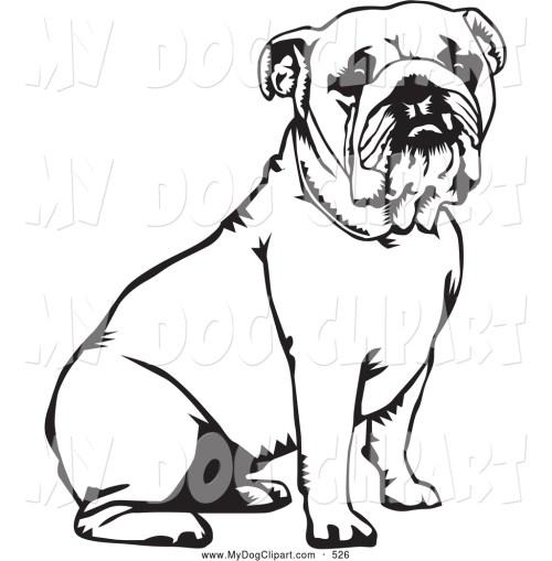 small resolution of 1024x1044 english bulldog clipart black and white