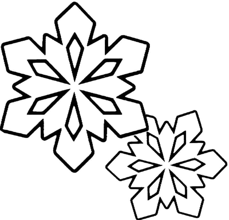 White Snowflakes No Background
