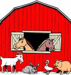 1367x957 colorable farm scene free clip art silhouette library farm [ 1367 x 957 Pixel ]