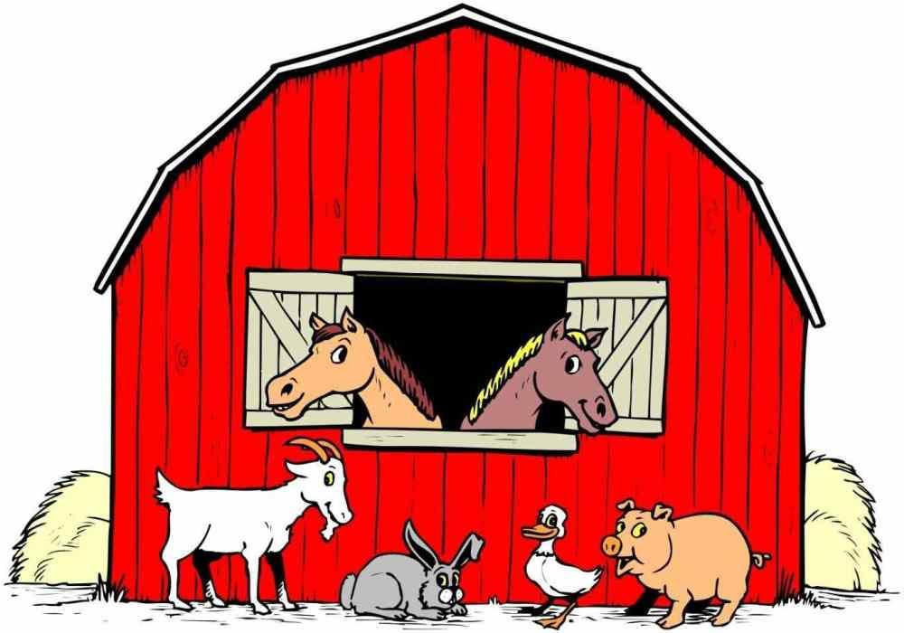 medium resolution of 1367x957 colorable farm scene free clip art silhouette library farm