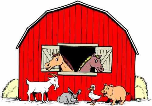 small resolution of 1367x957 colorable farm scene free clip art silhouette library farm