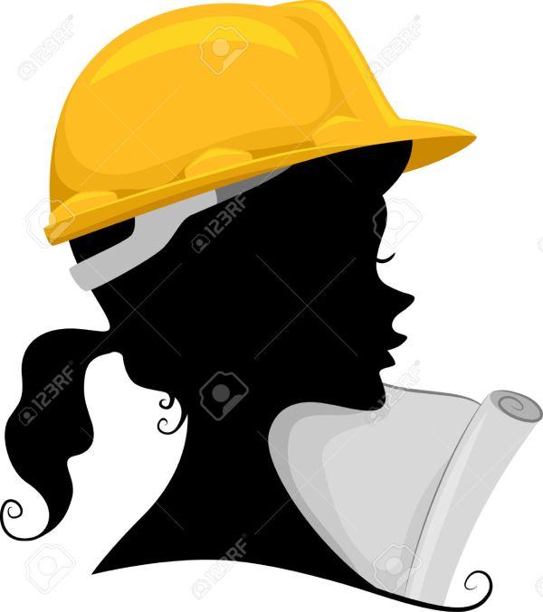 Female Engineer Clipart Free