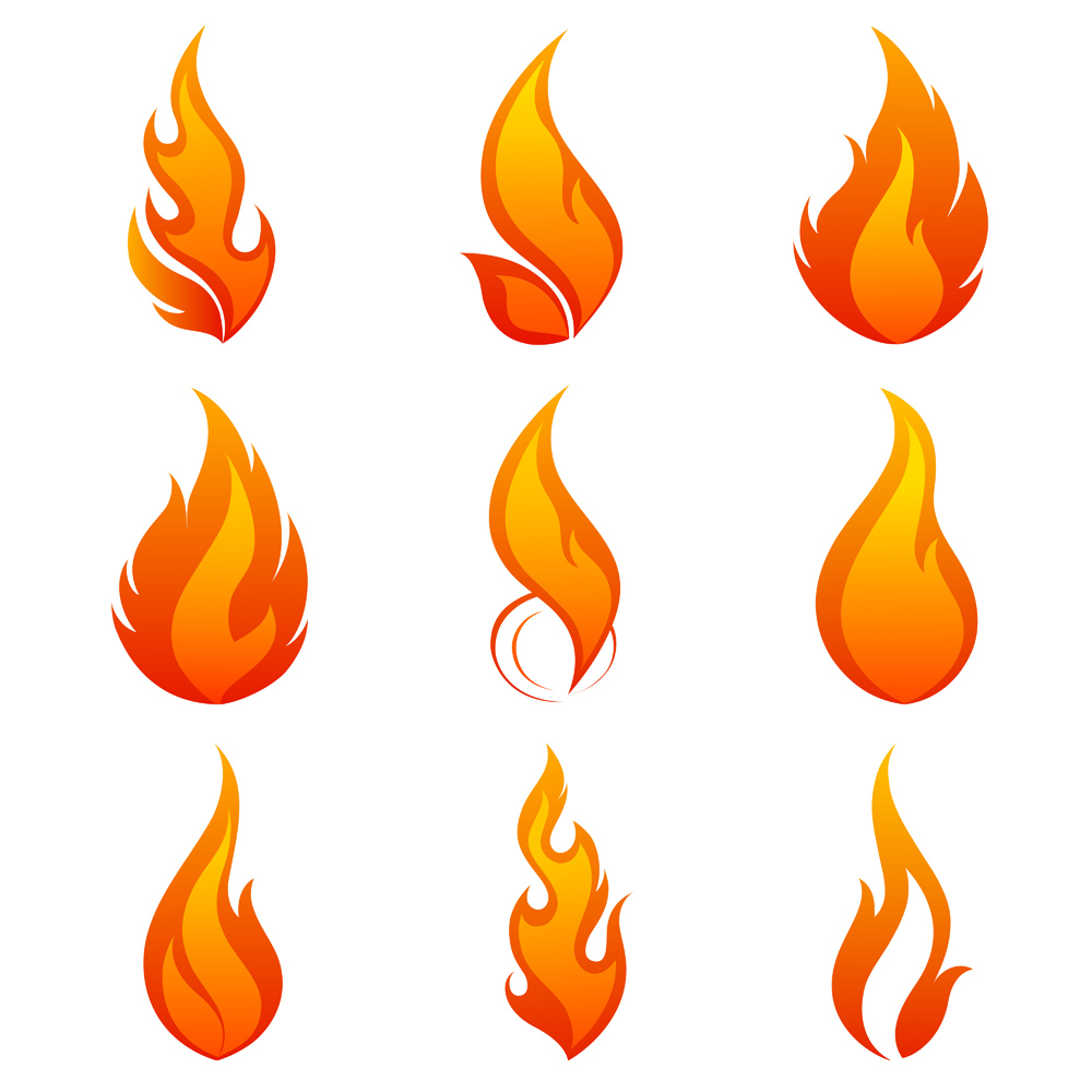 hight resolution of 1000x1000 clipart flame free
