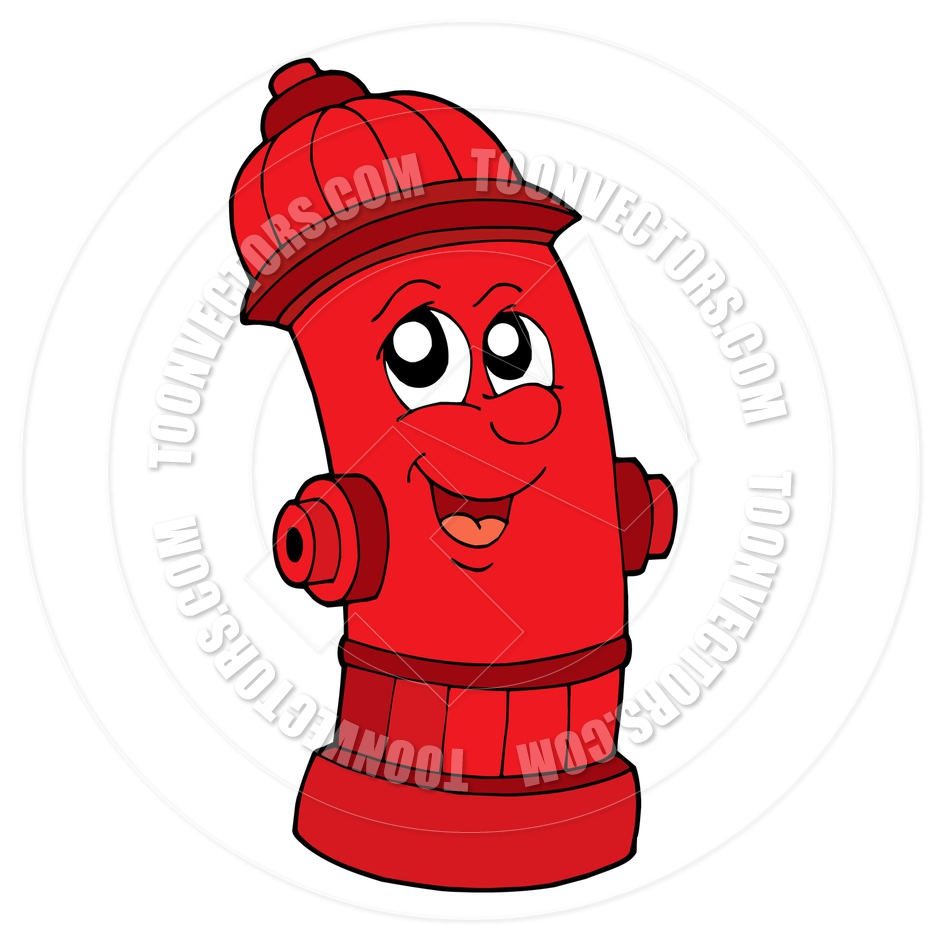 medium resolution of 940x940 cartoon cute red fire hydrant by clairev toon vectors eps