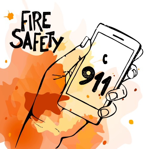 small resolution of 5906x5906 burn clipart fire prevention