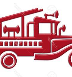 1300x850 unique fire truck car icon stock vector silhouette images [ 1300 x 850 Pixel ]