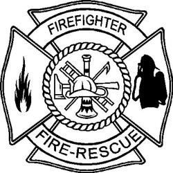 firefighter coloring tattoo badge clipart designs sketch symbol attractive template pages clip firefighters sketchite clipartmag tattoos google