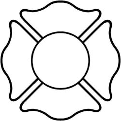 maltese cross clipart fire clip firefighter outline fireman vector department christmas explore dept badges clipartmag truck template stencils cricut fuoco