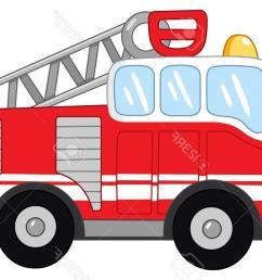 1300x873 best 15 fire truck stock vector cartoon images [ 1300 x 873 Pixel ]