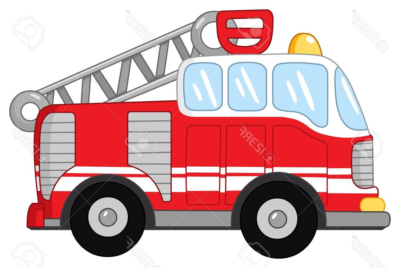 hight resolution of 1300x873 best 15 fire truck stock vector cartoon images
