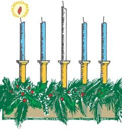 1484x1168 advent wreath clipart [ 1484 x 1168 Pixel ]
