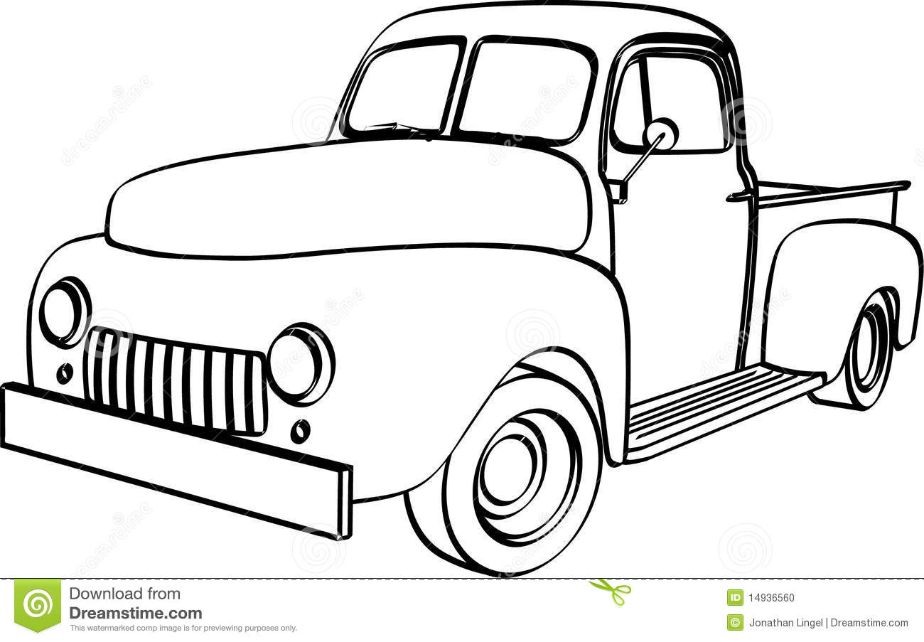 Flatbed Tow Truck Clipart