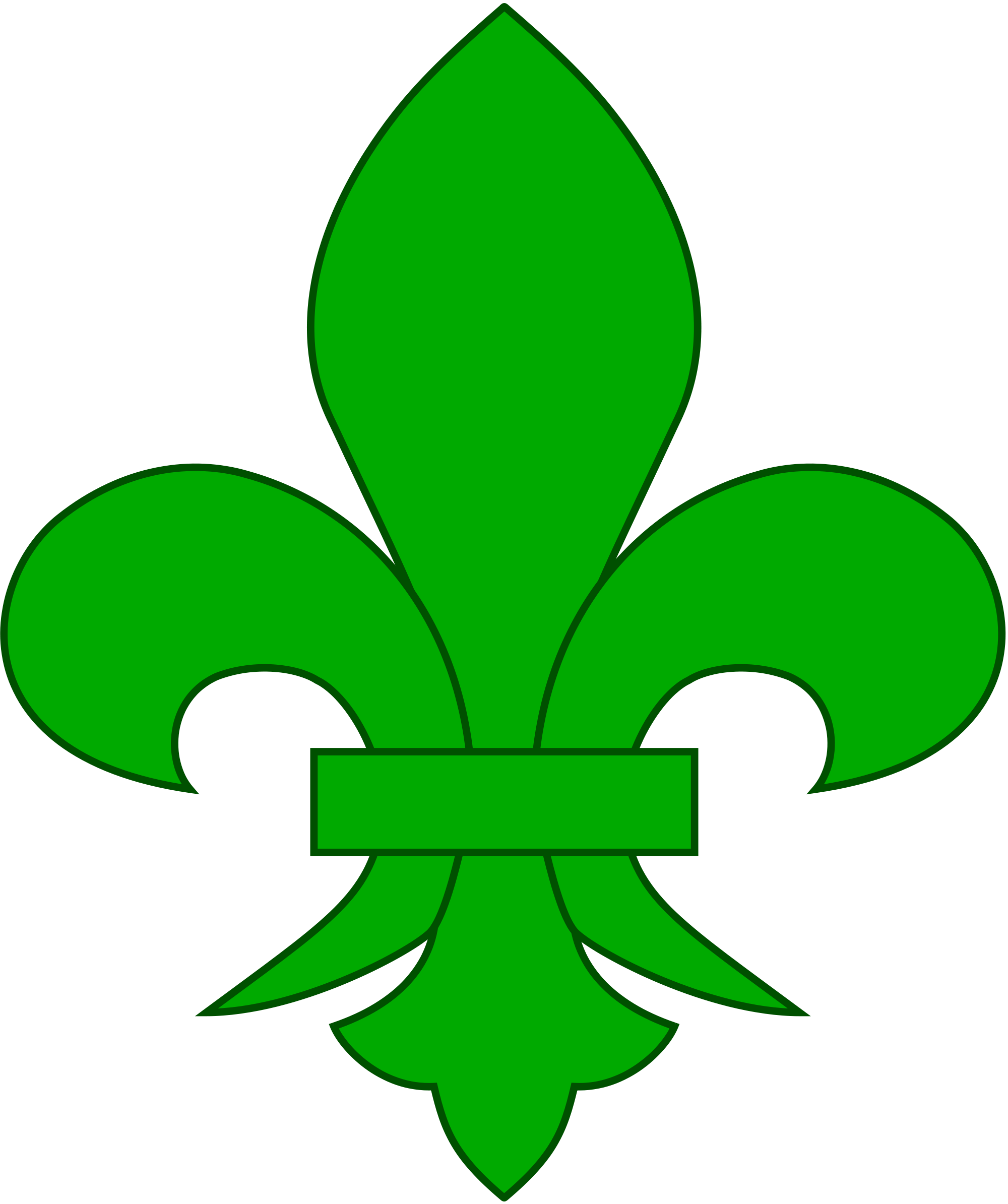 hight resolution of 2000x2389 filefleur de lis svg