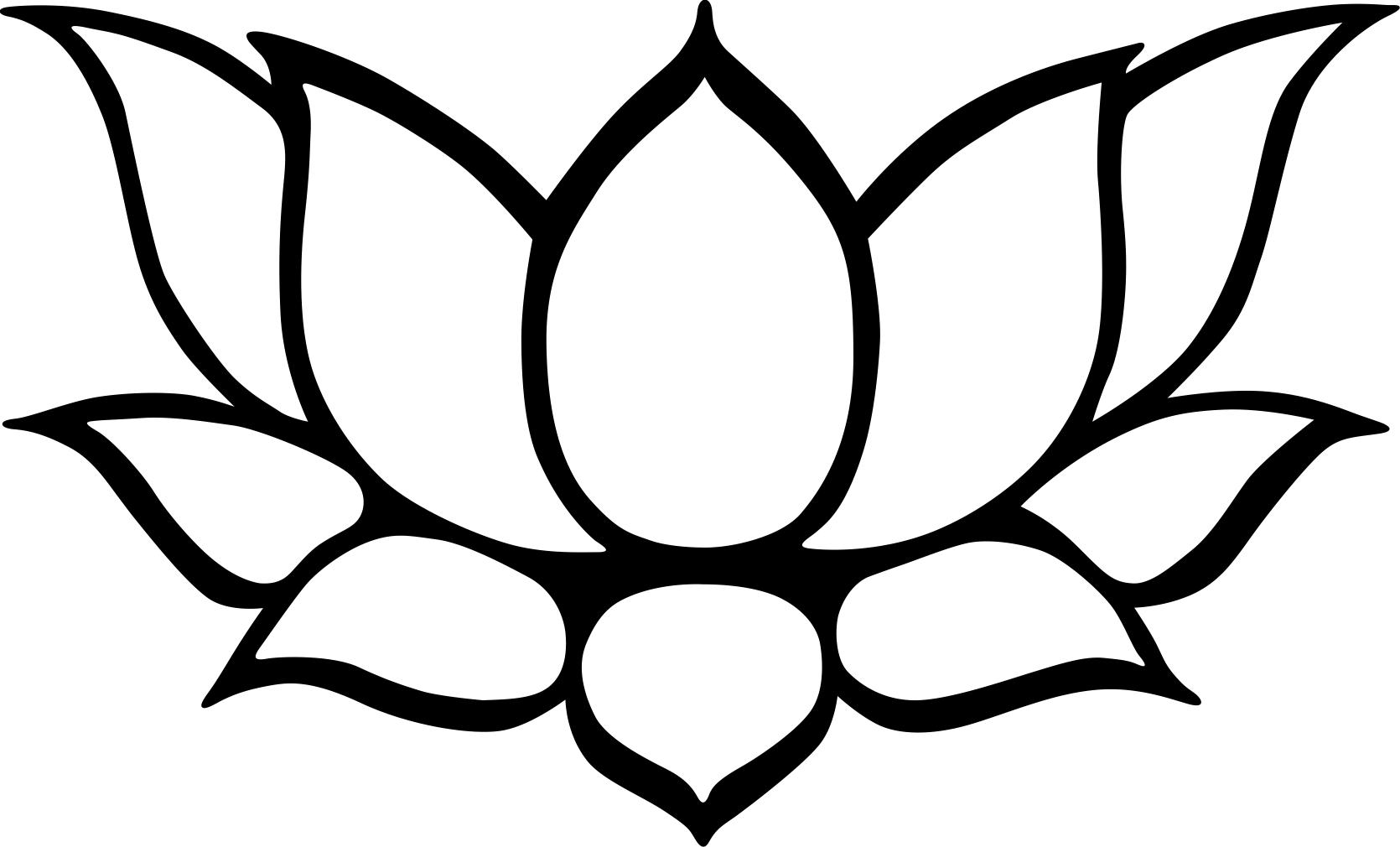 Flower Clipart Coloring