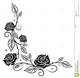 rose roses clipart flowers flower frame leaves feuilles border rosas hojas fleurs foglie fiori bladeren bloemen rozen vine flores leaf