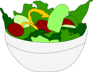 salad clipart transparent clip taco salade chef chicken fruit clipartmag clipartion
