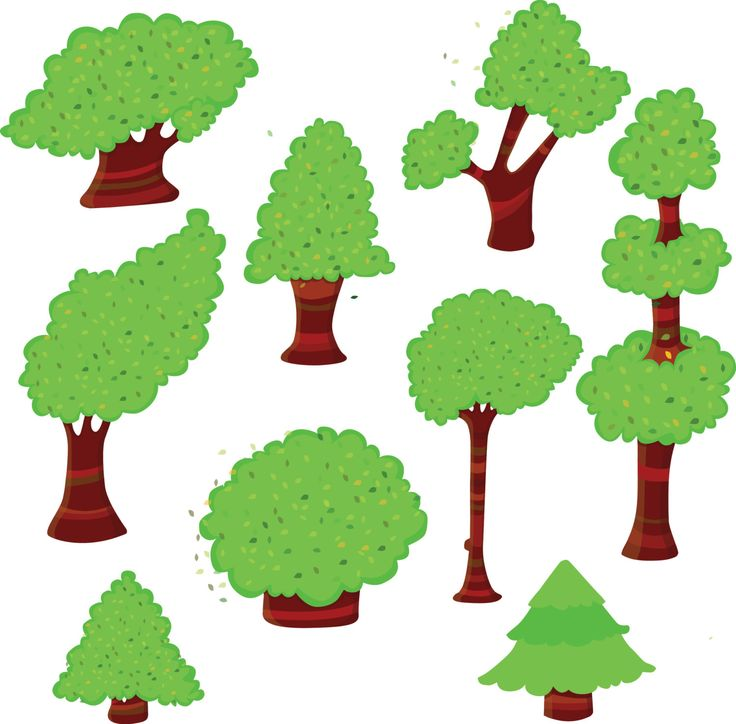 forest tree clipart free