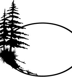 2144x1784 forest clipart pine tree outline [ 2144 x 1784 Pixel ]