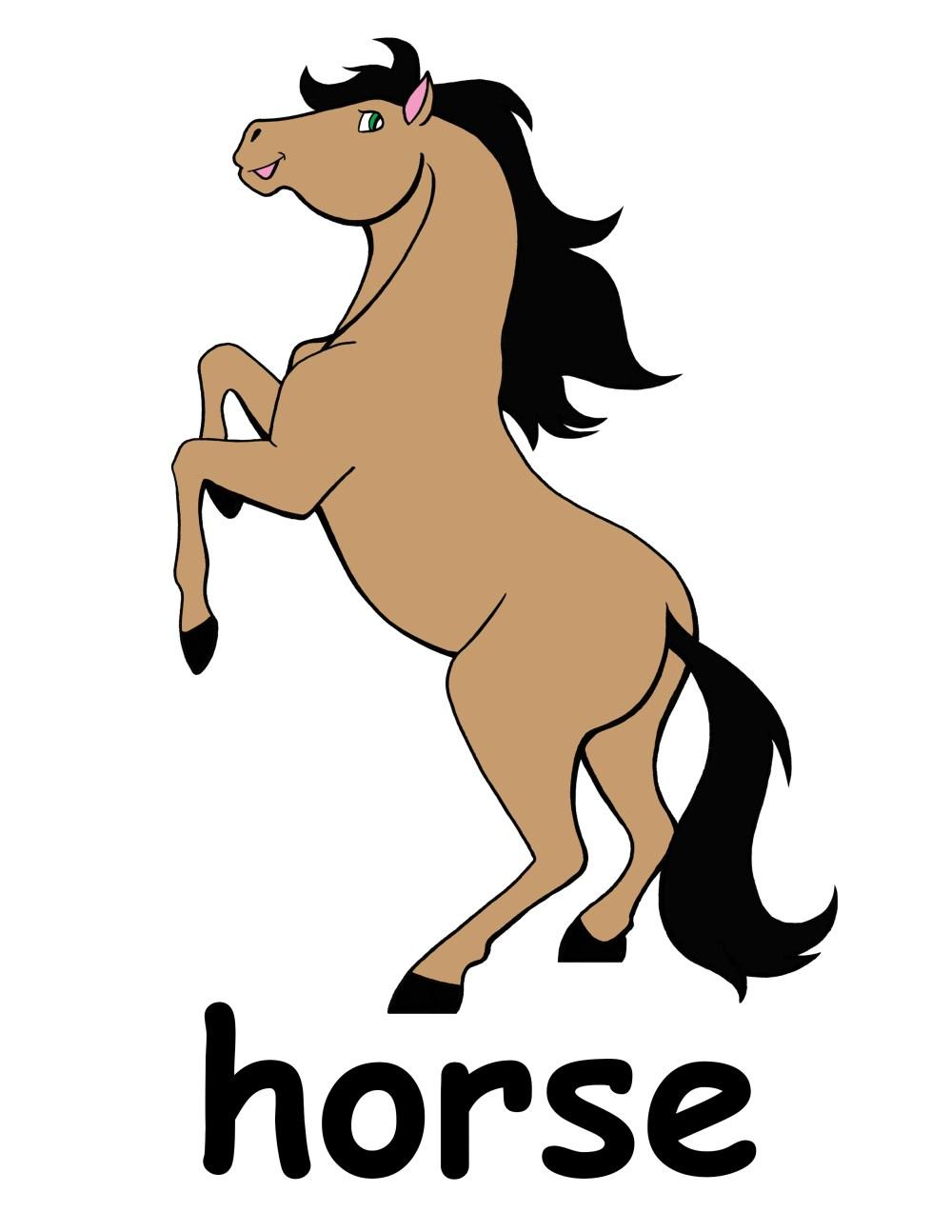 medium resolution of 2550x3300 cute horse head clip art free clipart images 4