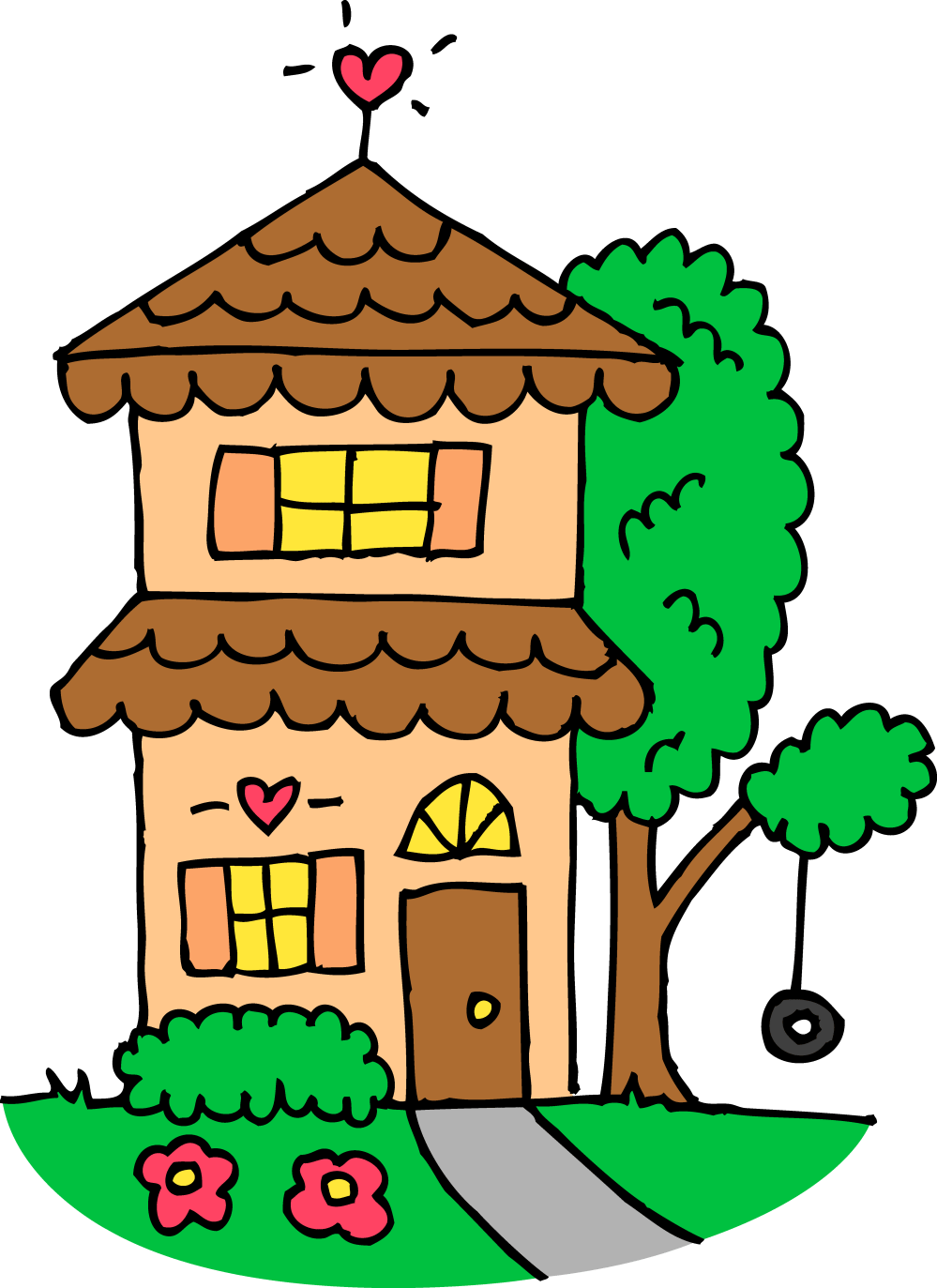 medium resolution of 4844x6656 house for sale clip art free clipart images 2 clipartix 4