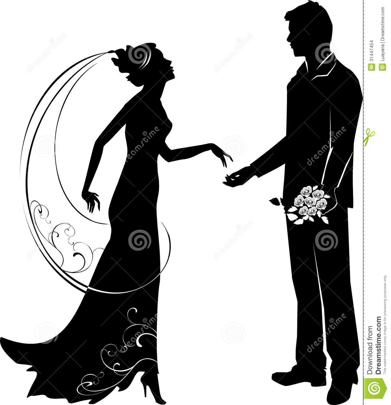 hight resolution of 1256x1300 groom clipart black and white