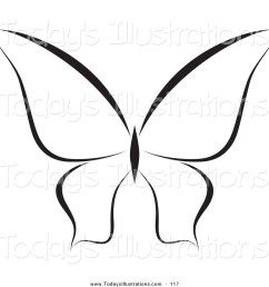 1024x1044 clipart of a black and white butterfly logo or coloring page by [ 1024 x 1044 Pixel ]