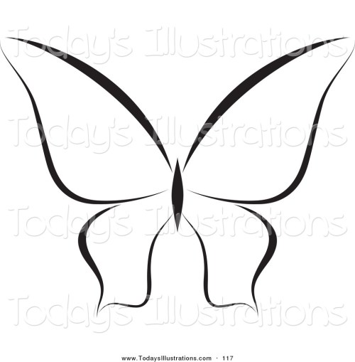 small resolution of 1024x1044 clipart of a black and white butterfly logo or coloring page by