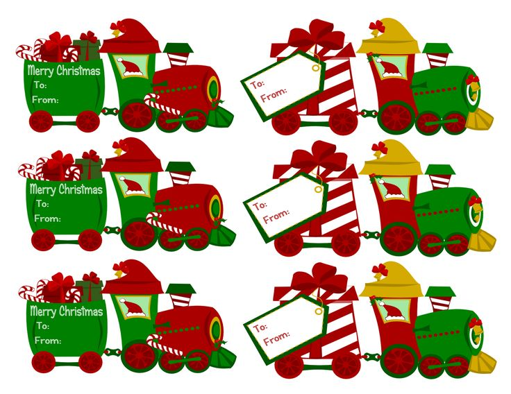 Free Clipart Christmas Gift Tags Free Download Best Free