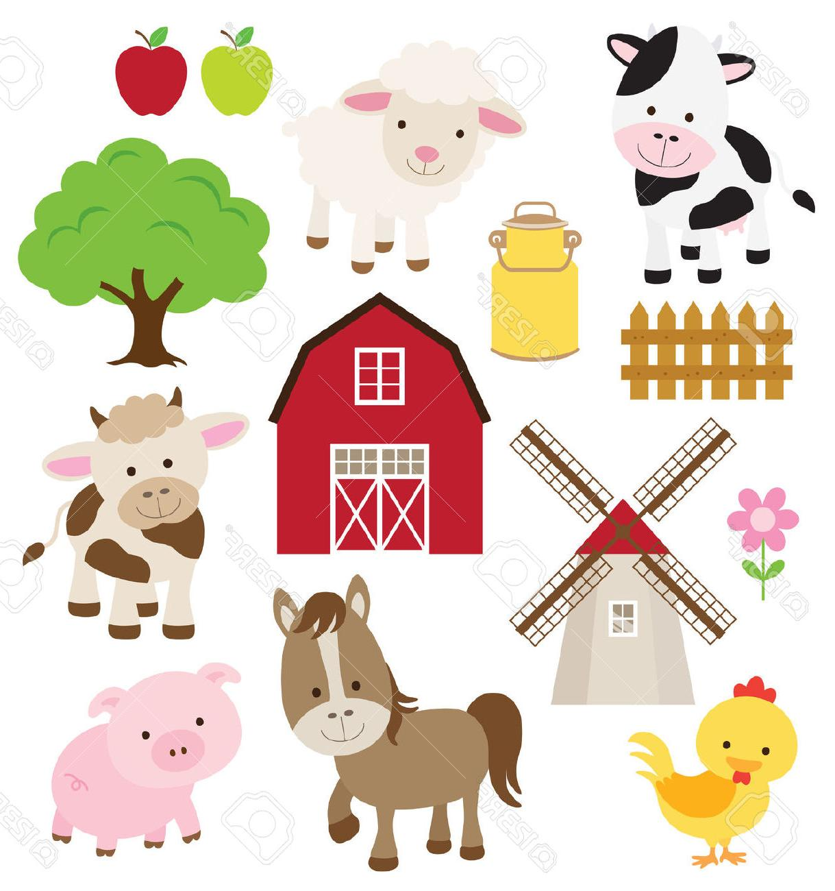 hight resolution of 1219x1300 best free vector illustration of farm animals and related items