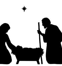 1600x1148 best silhouette clip art christmas border clipart nativity pictures [ 1600 x 1148 Pixel ]