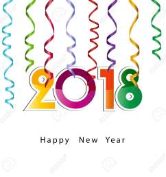 1300x1300 happy new year 2018 background or element of a holidays card [ 1300 x 1300 Pixel ]