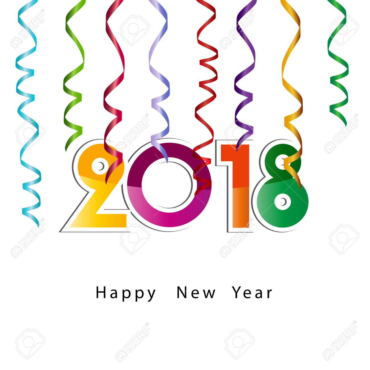 hight resolution of 1300x1300 happy new year 2018 background or element of a holidays card