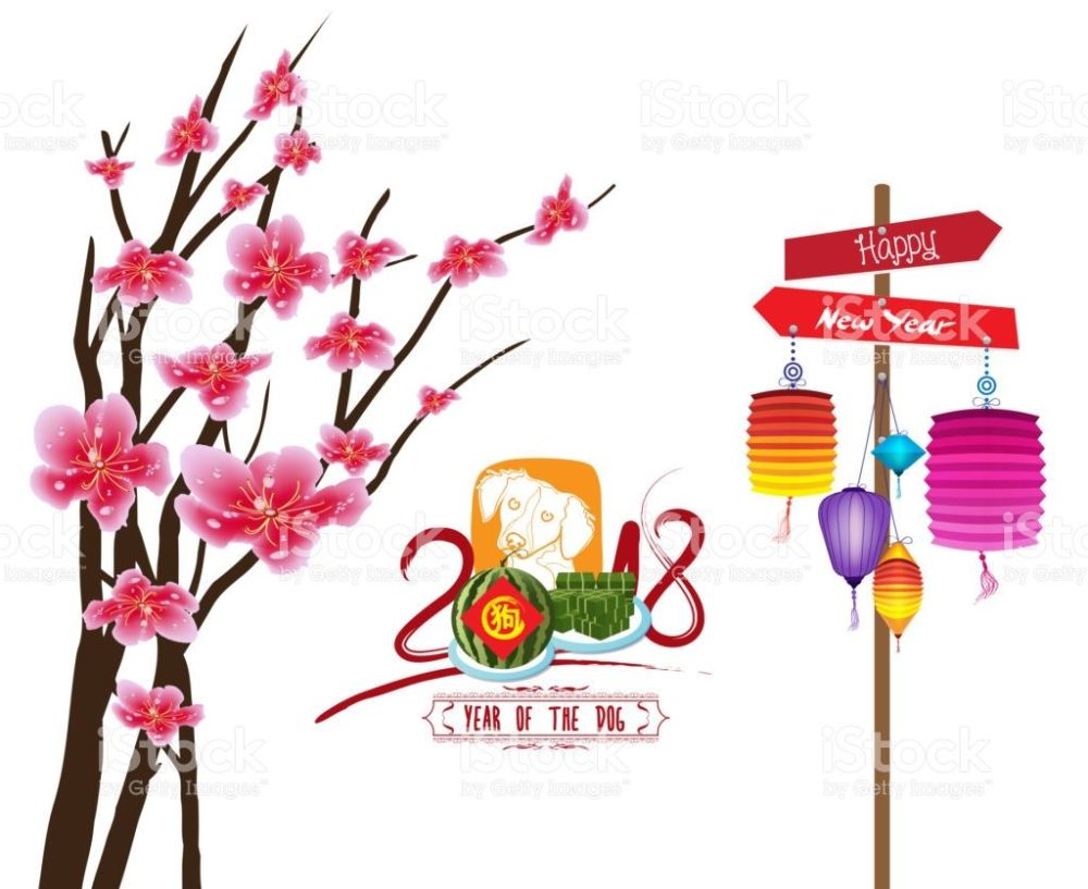 medium resolution of 1024x837 happy new year 2018 zodiac dog lunar new year zodiac vector