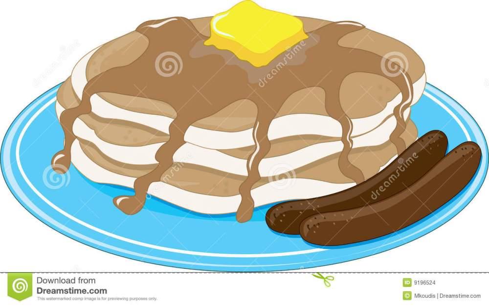 medium resolution of 1300x815 breakfast clipart pancake sausage