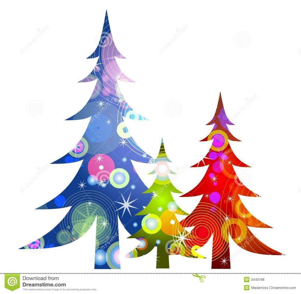 medium resolution of 1300x1272 retro christmas trees clip art royalty free stock photos