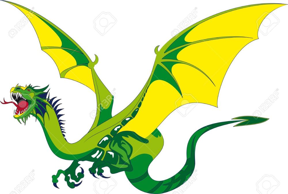 medium resolution of 1300x876 dragon clipart medieval dragon