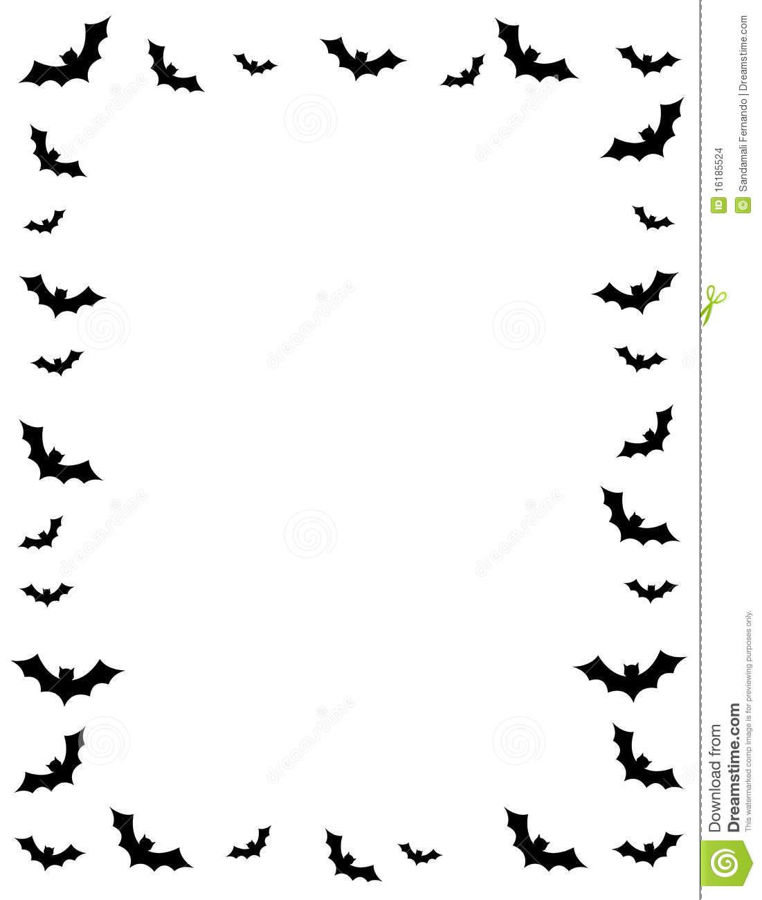 Free Halloween Borders Clipart