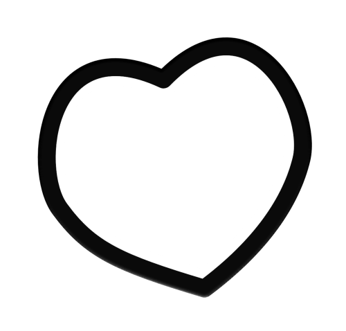 small resolution of 1150x1100 heart clipart solid black