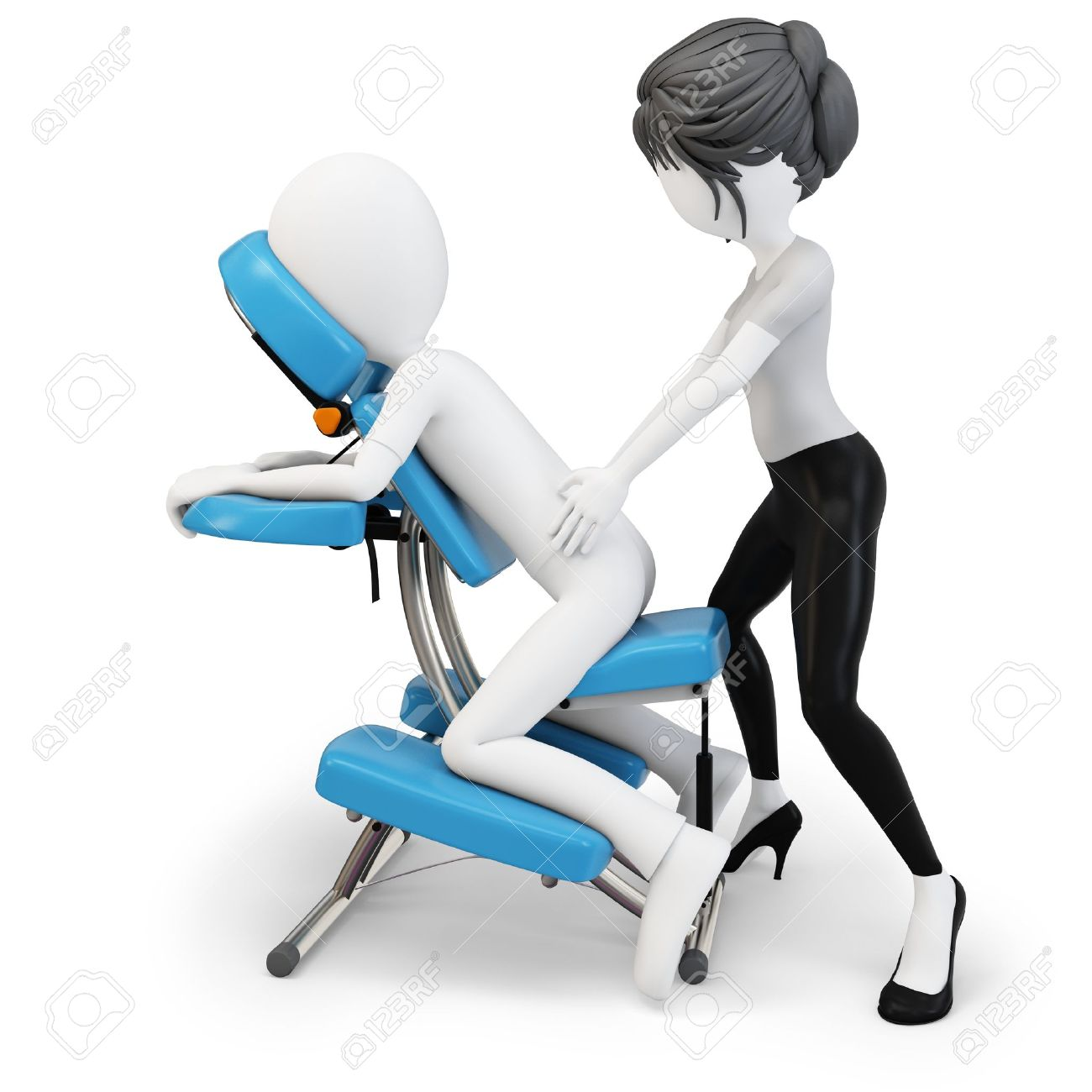 Massage Therapist Chair Free Massage Clipart Images Free Download Best Free Massage