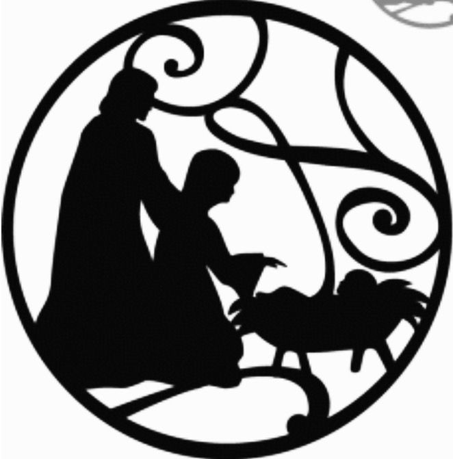 Download Free Nativity Clipart Silhouette | Free download on ClipArtMag